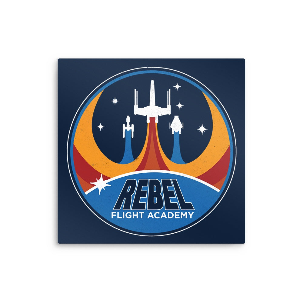 Rebel Flight Academy - Metal Print