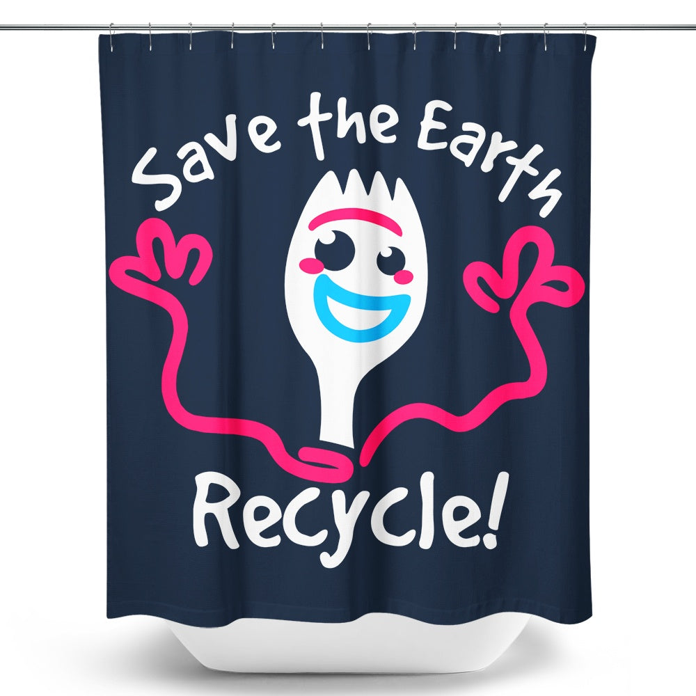 Recycle - Shower Curtain