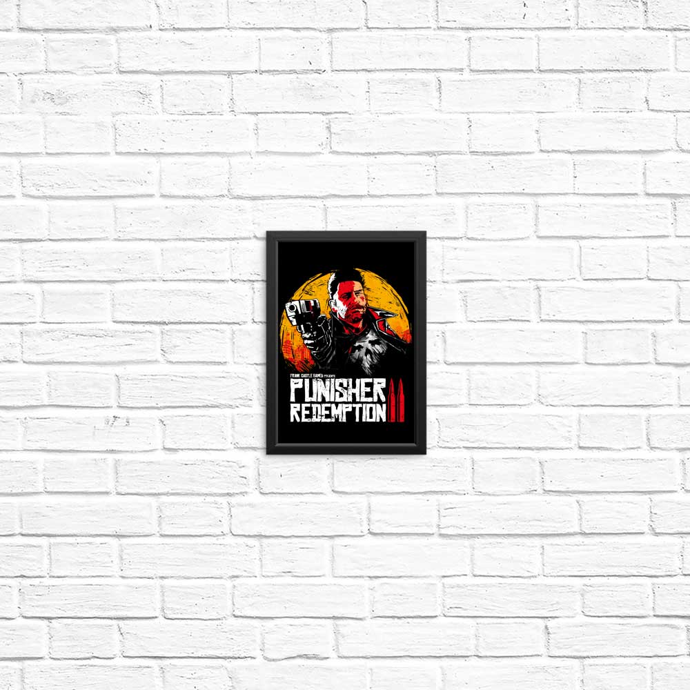 Red Castle Redemption - Posters & Prints