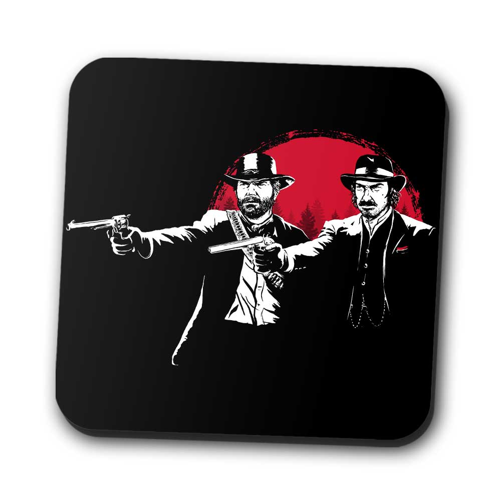 Red Dead Fiction - Coasters