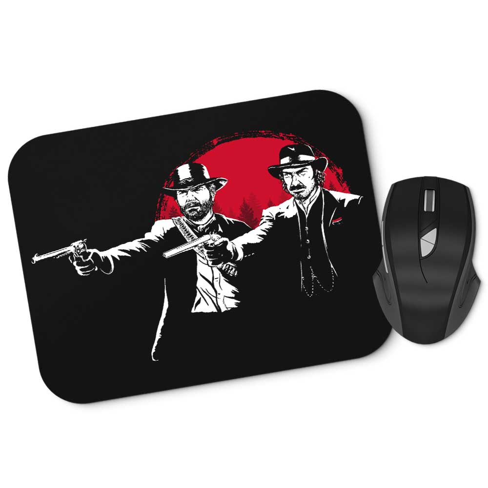 Red Dead Fiction - Mousepad