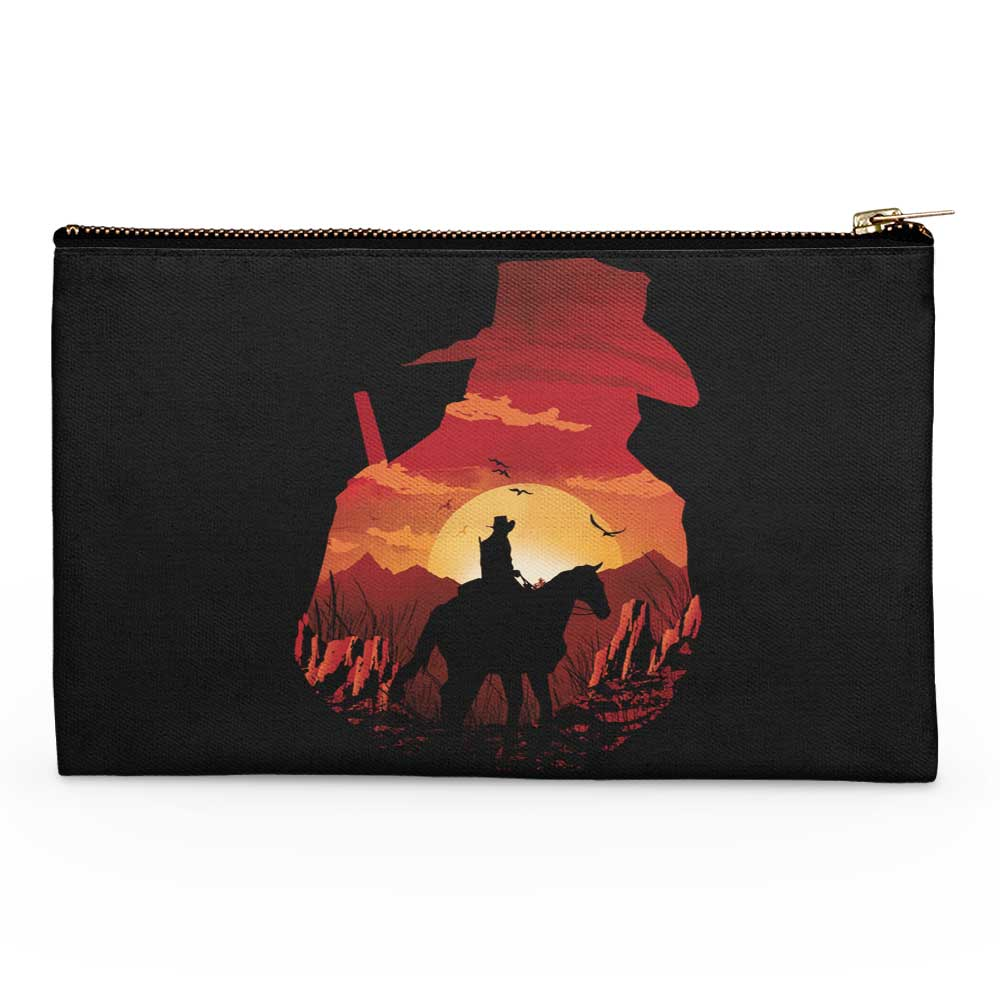 Red Dead Sunset - Accessory Pouch