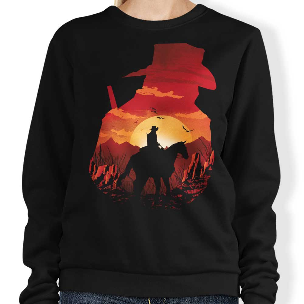 Red Dead Sunset - Sweatshirt