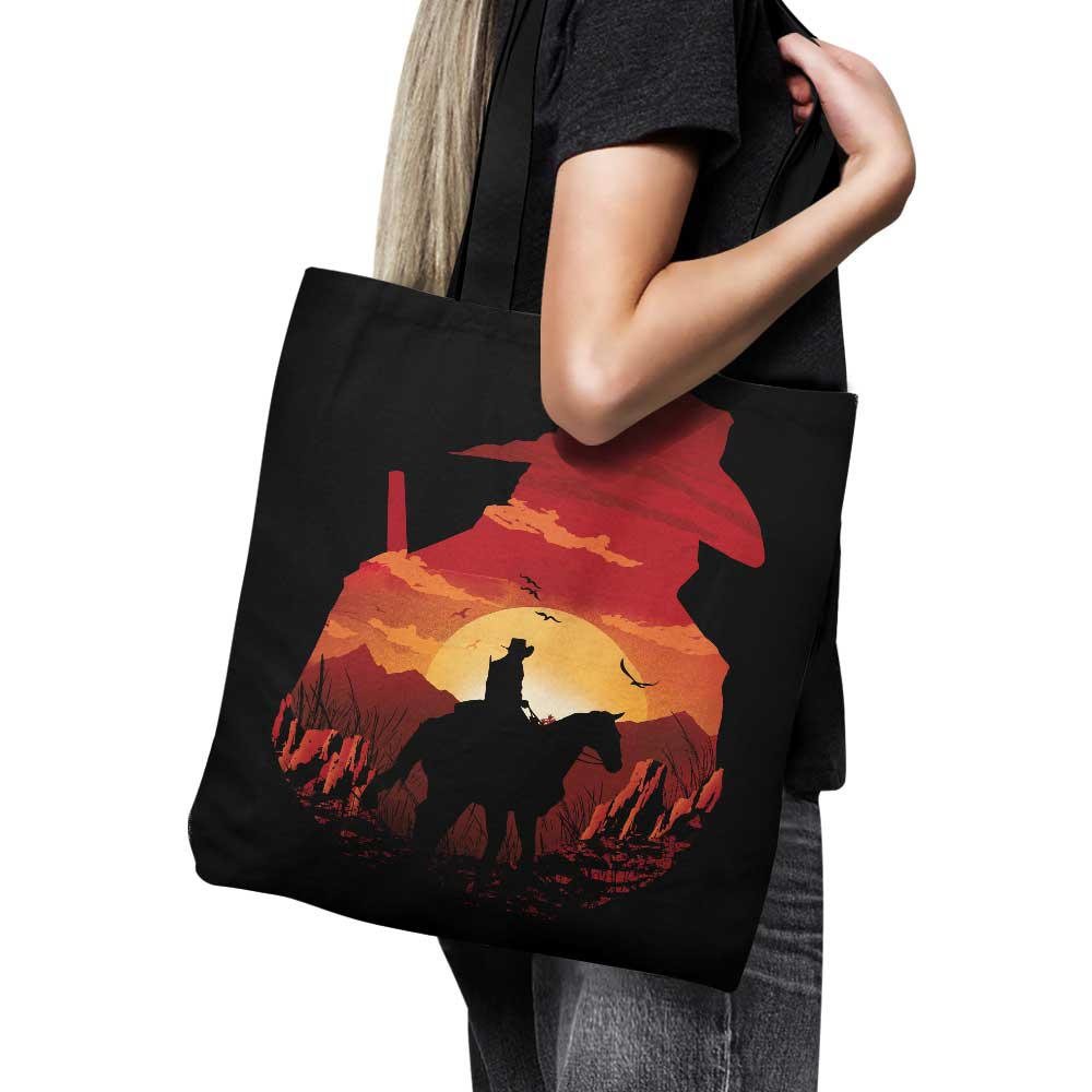 Red Dead Sunset - Tote Bag