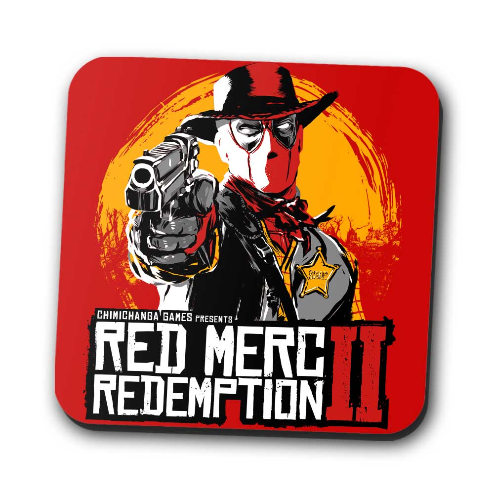 Red Merc Redemption II - Coasters
