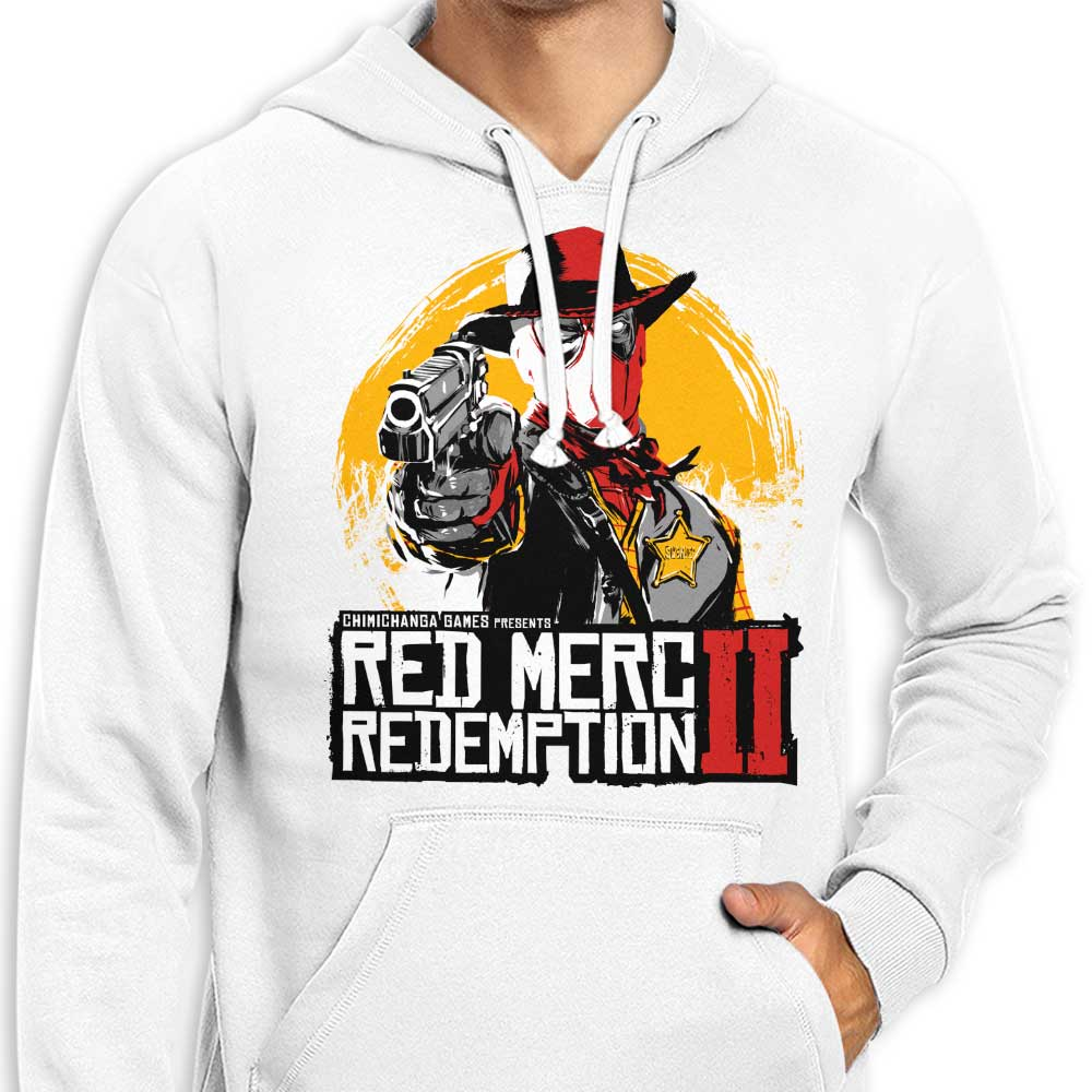 e8addede Red Merc Redemption II - Hoodie | Once Upon a Tee