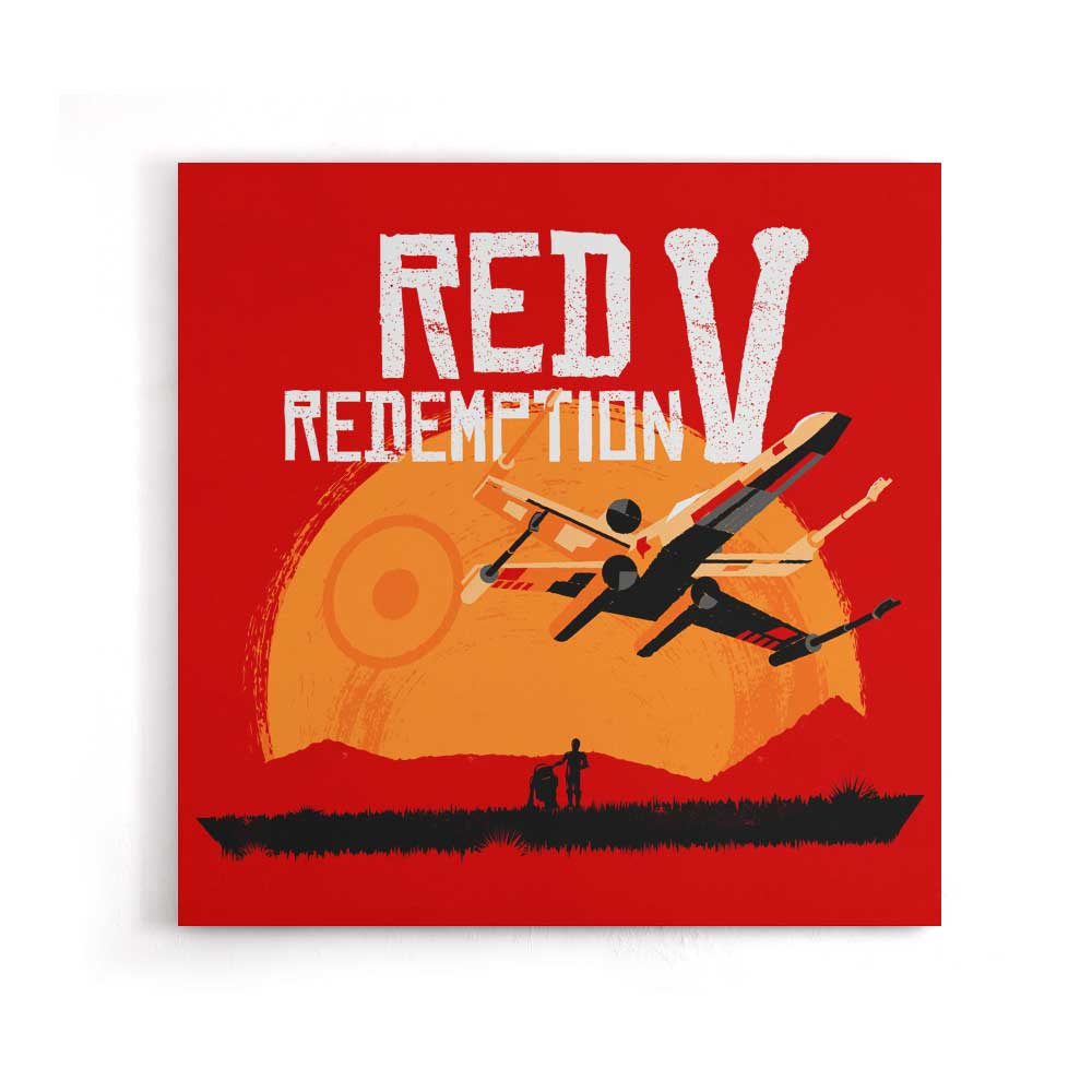Red V Redemption - Canvas Print