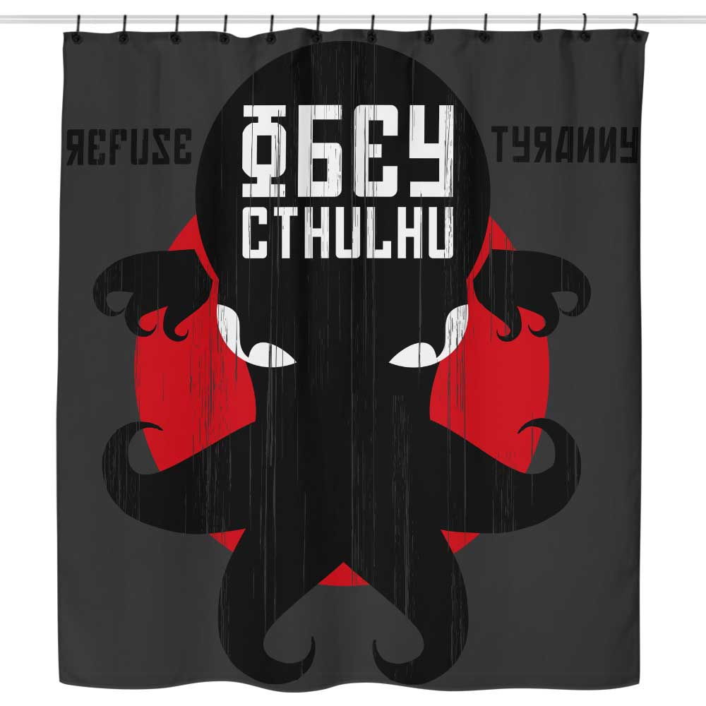 Refuse Tyranny - Shower Curtain