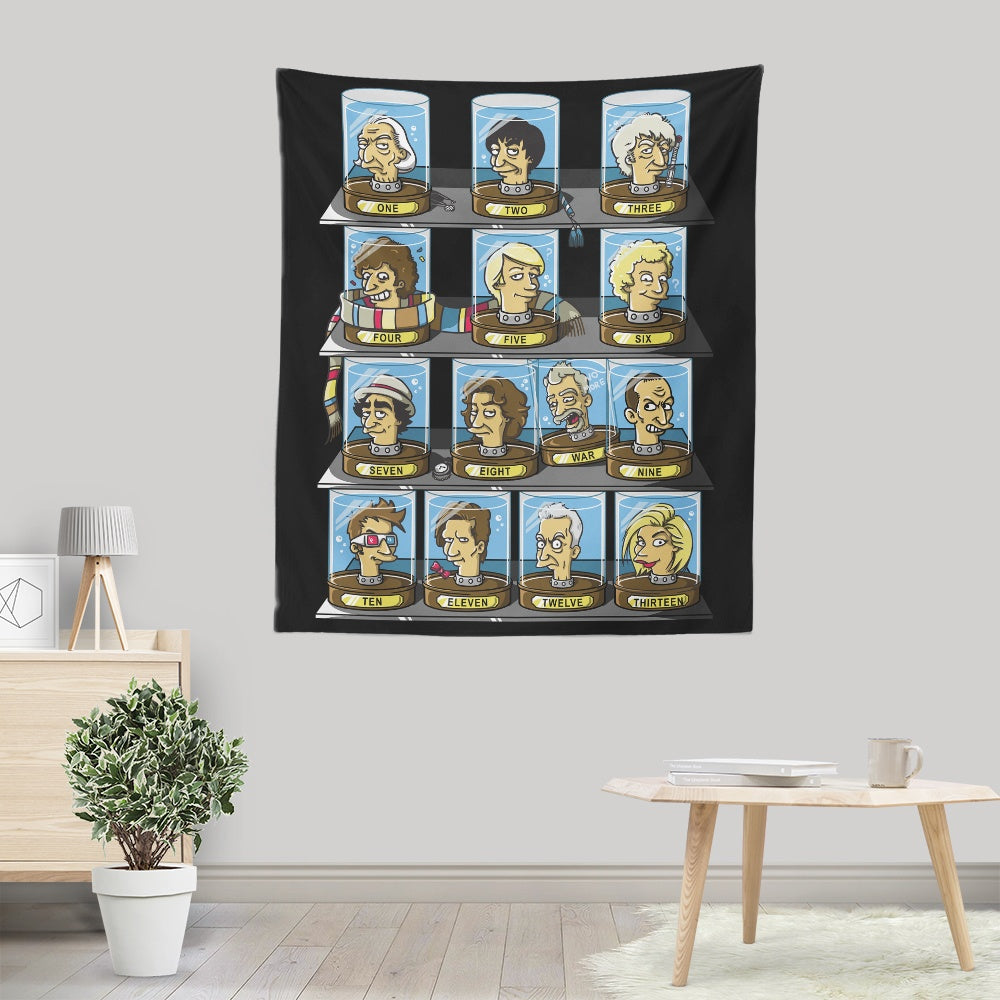 Regen-O-Rama - Wall Tapestry | Once Upon a Tee
