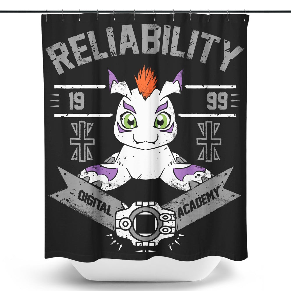 Reliability Academy - Shower Curtain