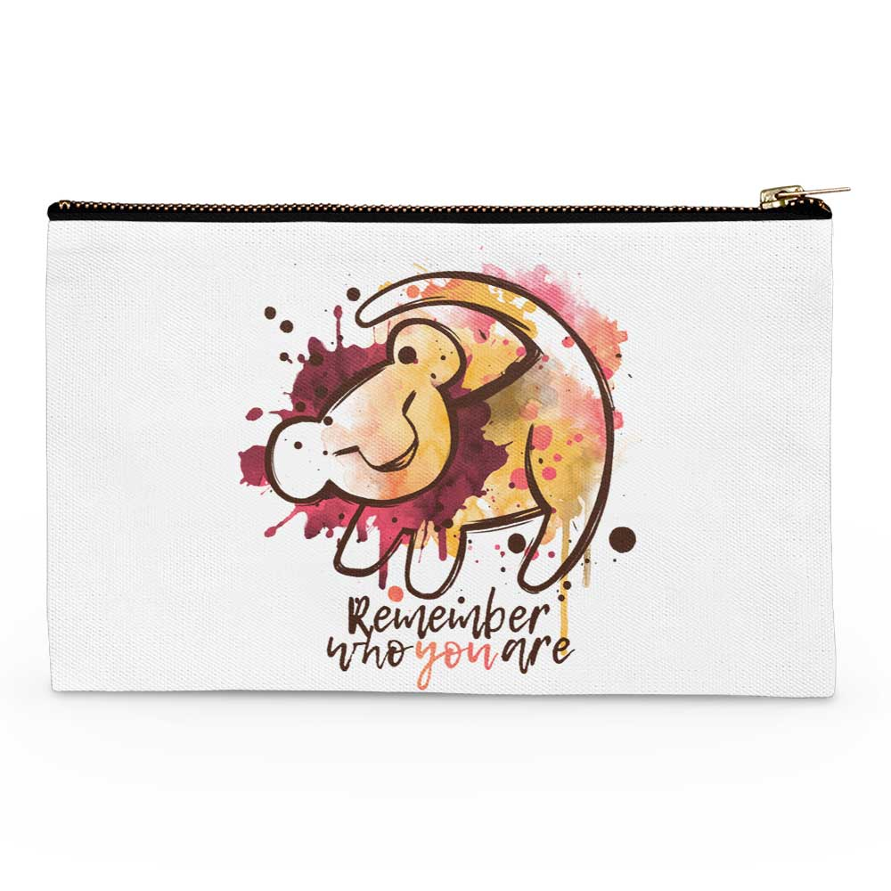 Remember Who You Are - Accessory Pouch