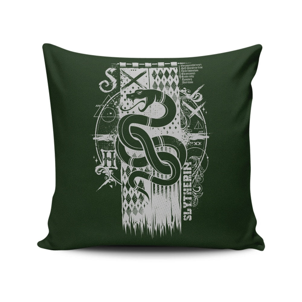 Resourceful, Cunning, and Ambitious - Throw Pillow