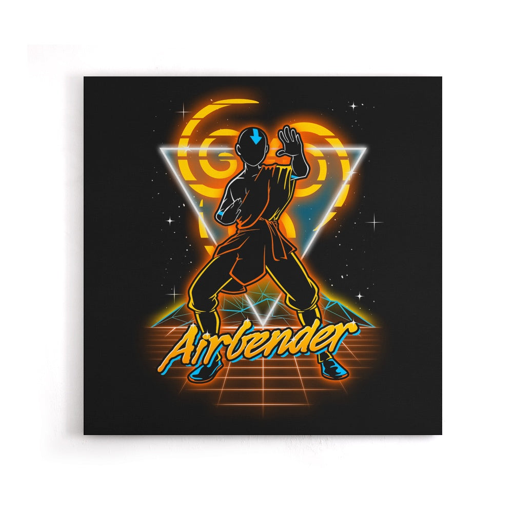 Retro Airbender - Canvas Print