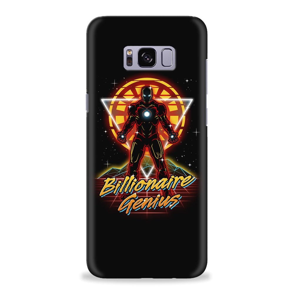 Retro Billionaire Genius - Galaxy S8 / Plus