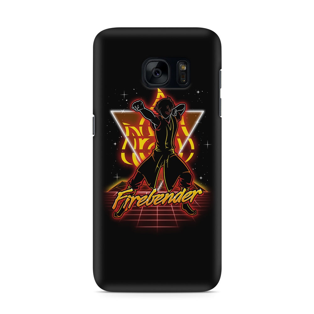 Retro Firebender - Galaxy S7 / Edge