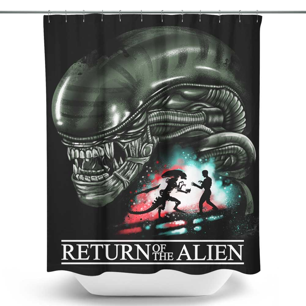 Return of the Alien - Shower Curtain