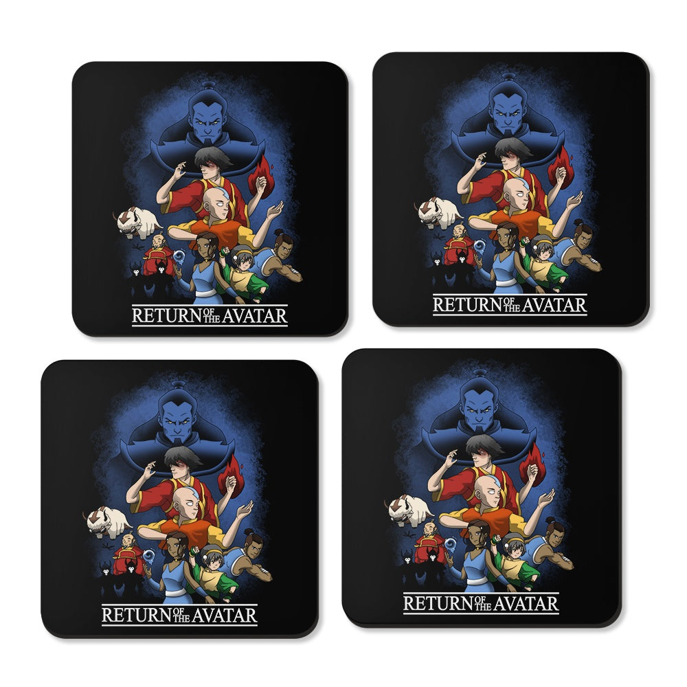 Return of the Avatar - Coasters