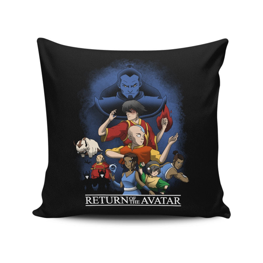 Return of the Avatar - Throw Pillow