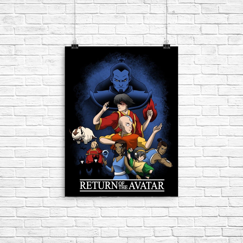 Return of the Avatar - Poster