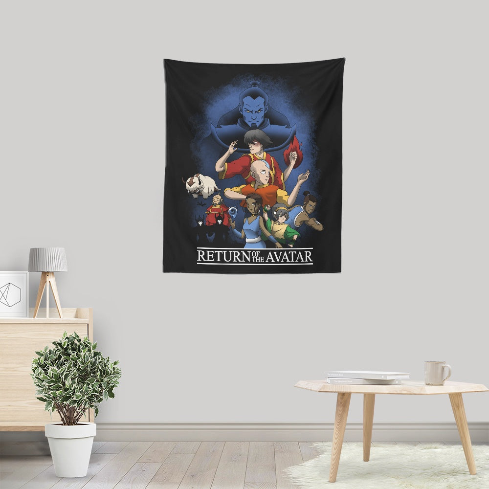 Return of the Avatar - Wall Tapestry