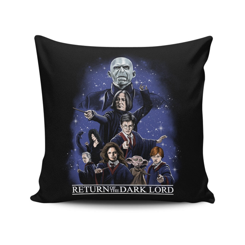 Return of the Dark Lord - Throw Pillow