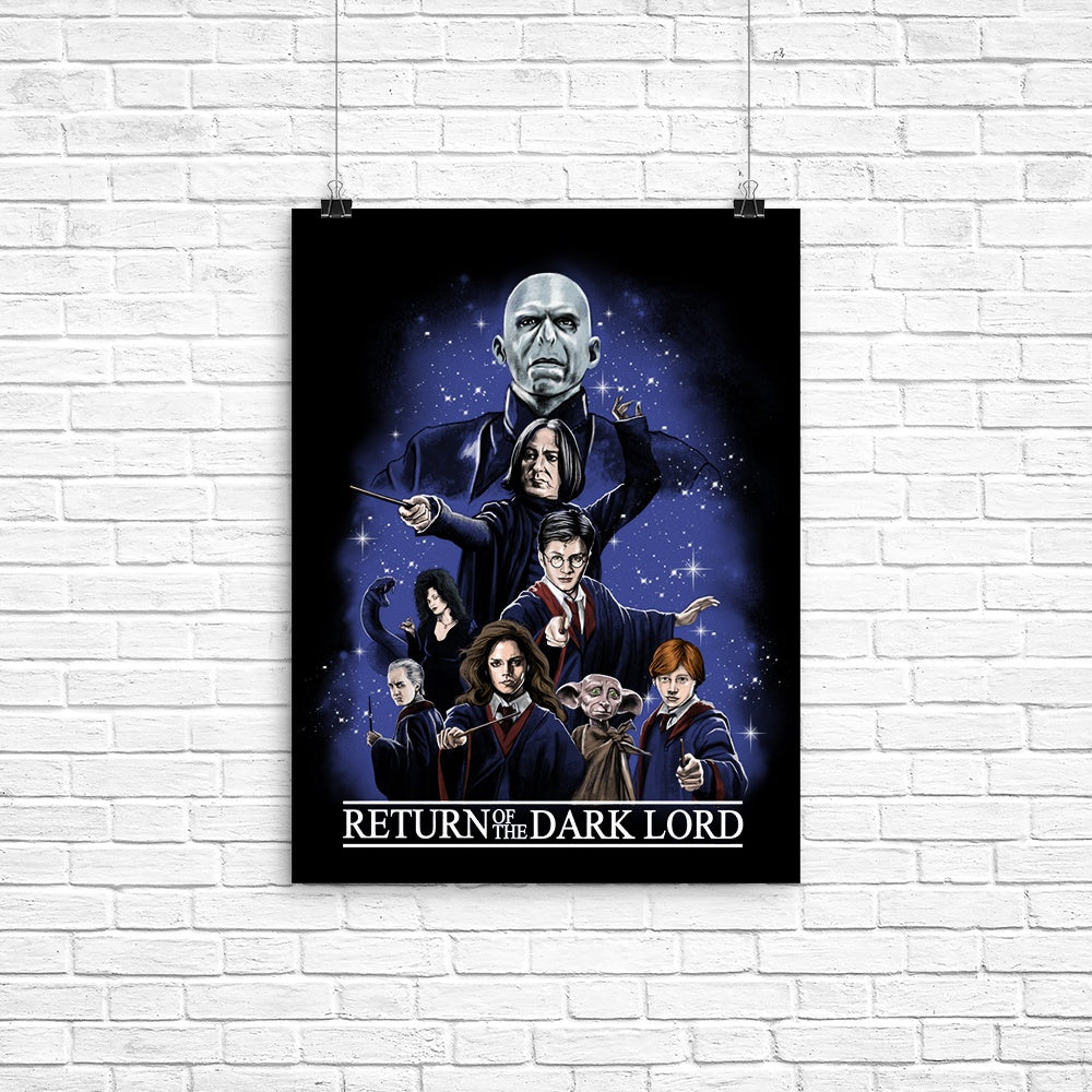 Return of the Dark Lord - Poster