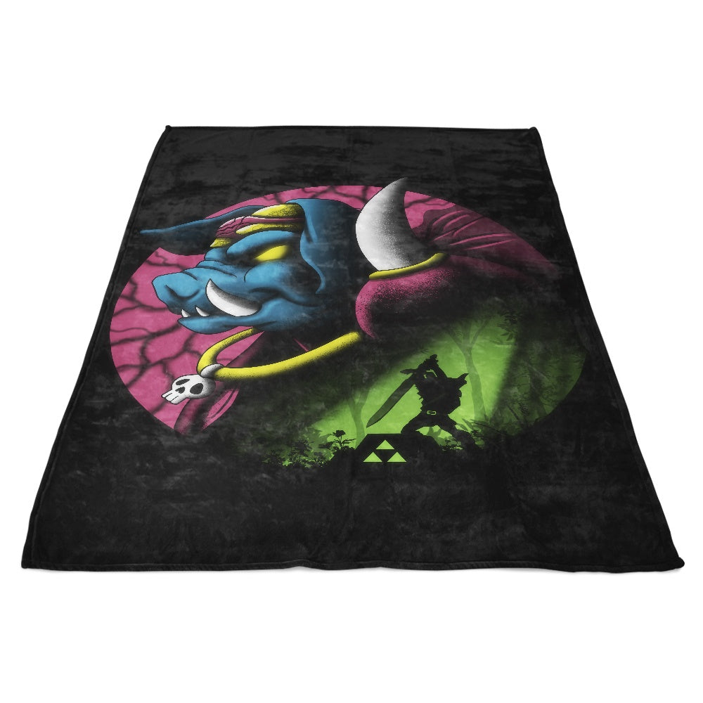 Return of the Dark Power - Fleece Blanket