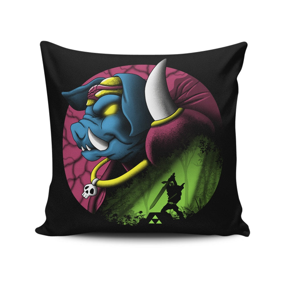 Return of the Dark Power - Throw Pillow