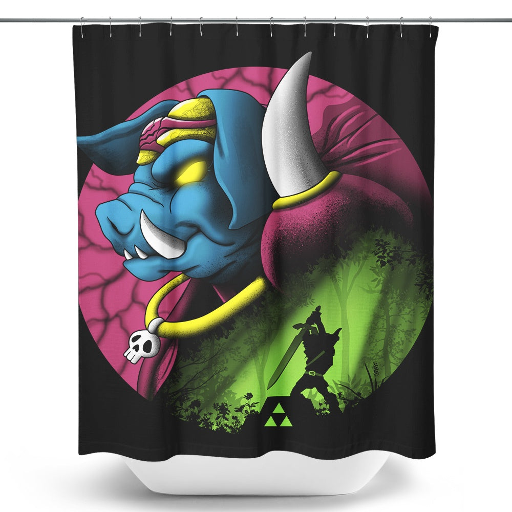 Return of the Dark Power - Shower Curtain