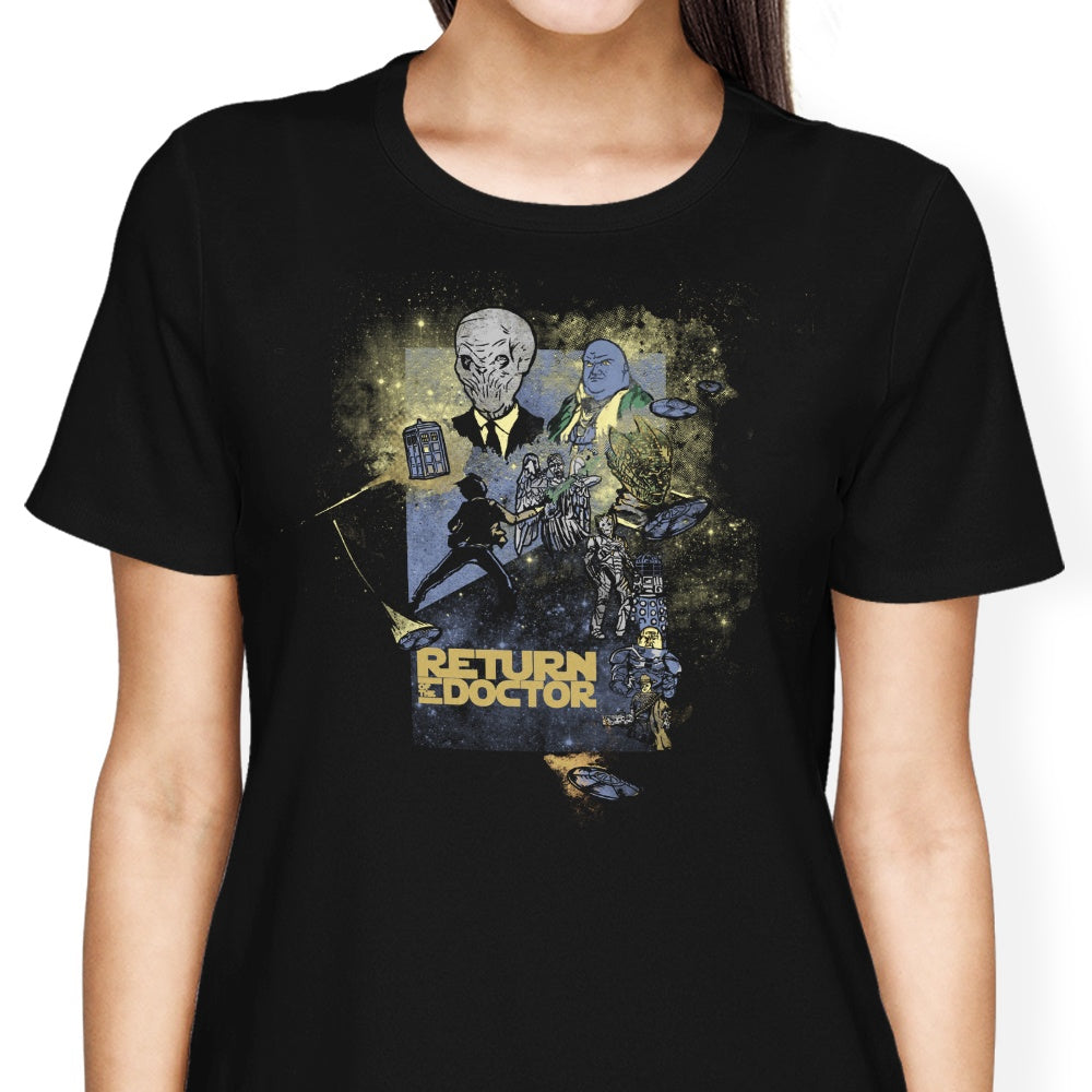 Return of the Doctor - Women's Apparel