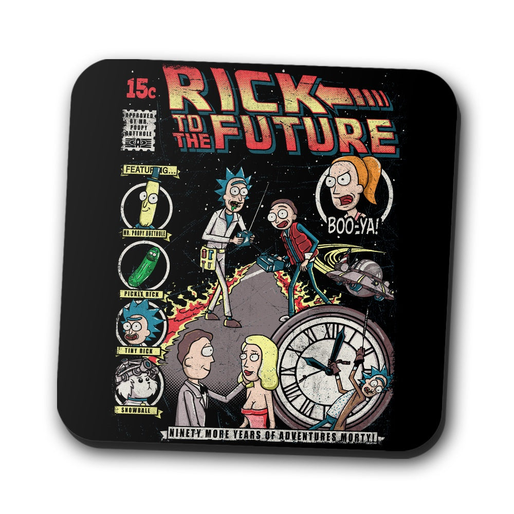 Rick to the Future - Coasters