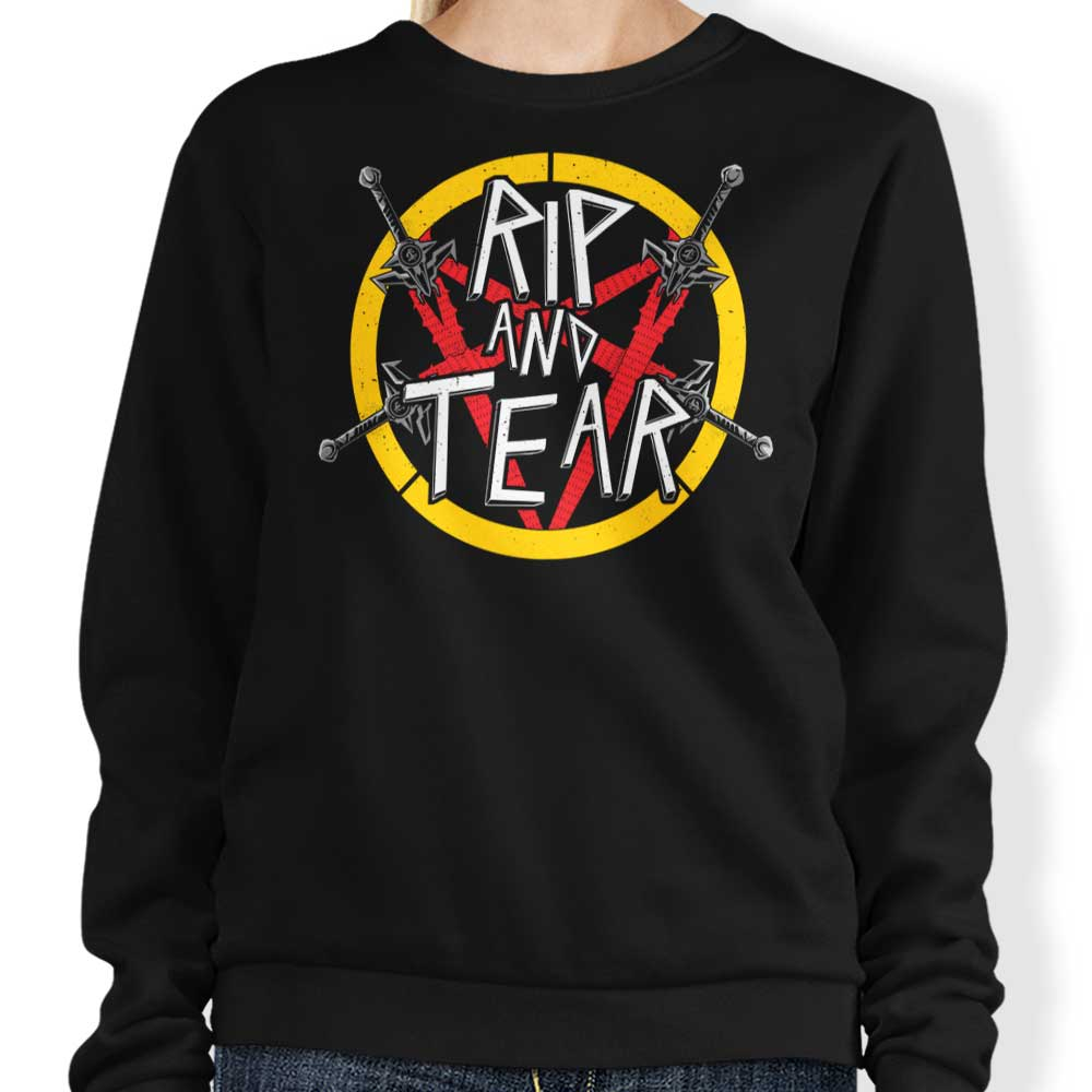 Rip and Tear - Sweatshirt