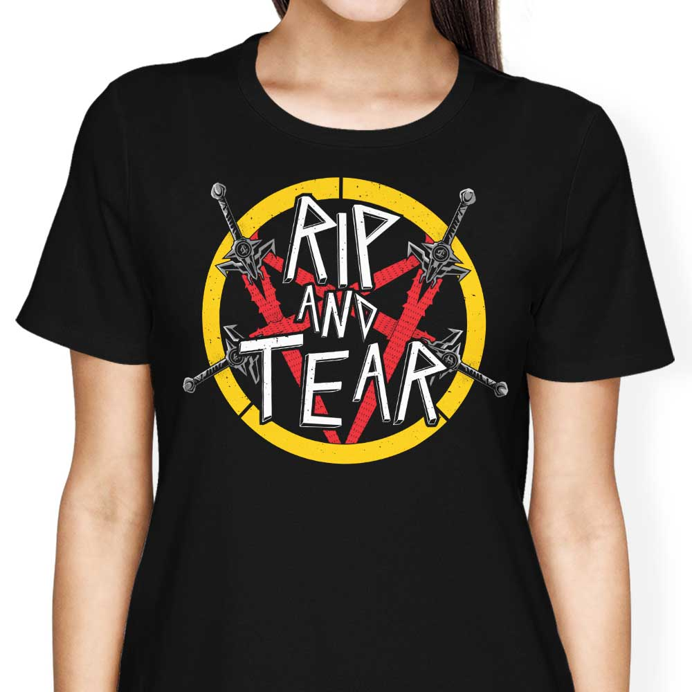 Rip and Tear - Women's Apparel