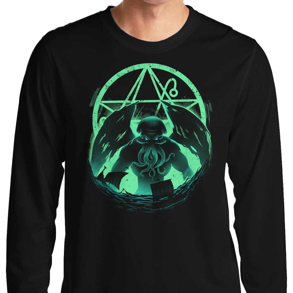 Rise of Cthulhu - Long Sleeve T-Shirt