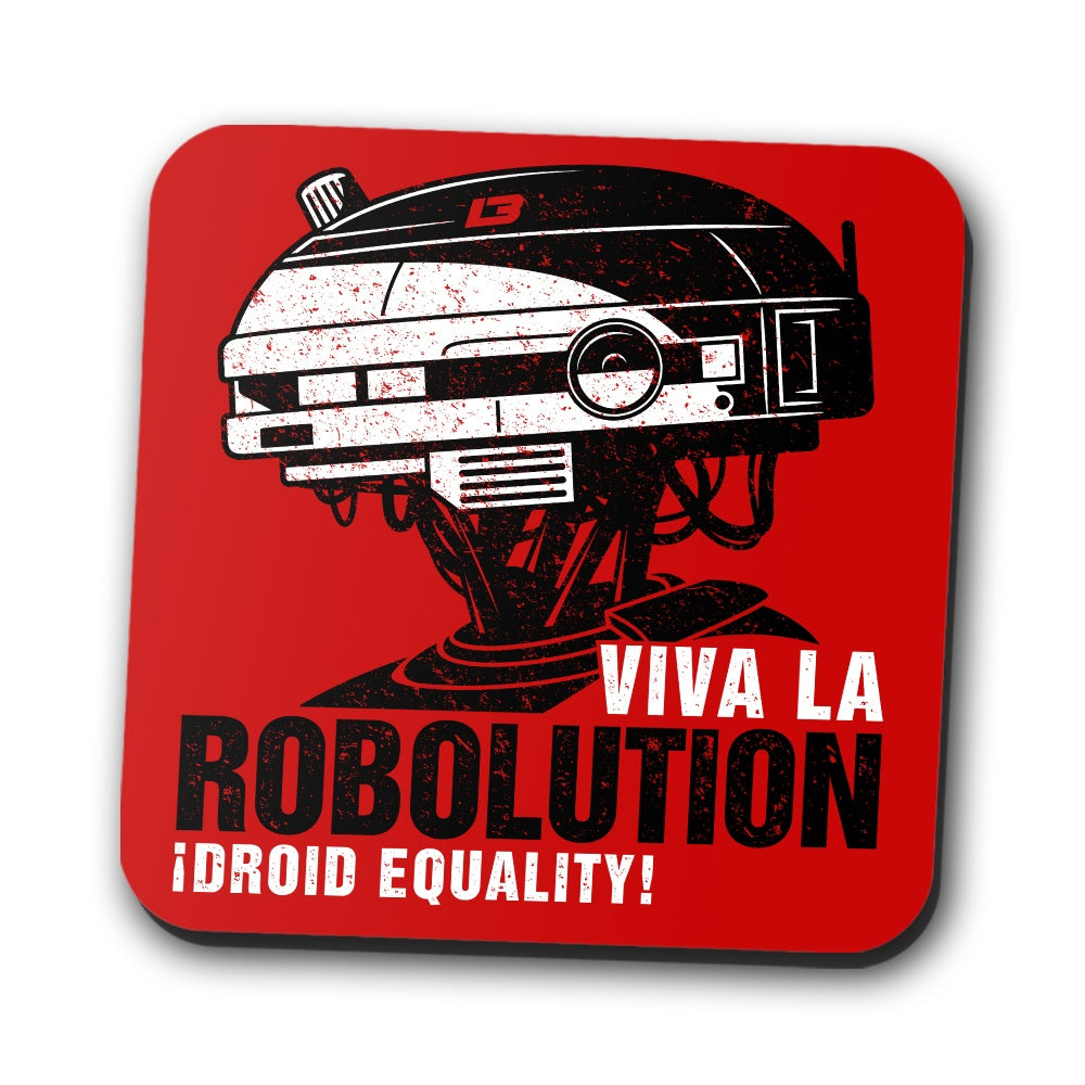 Robolution - Coasters
