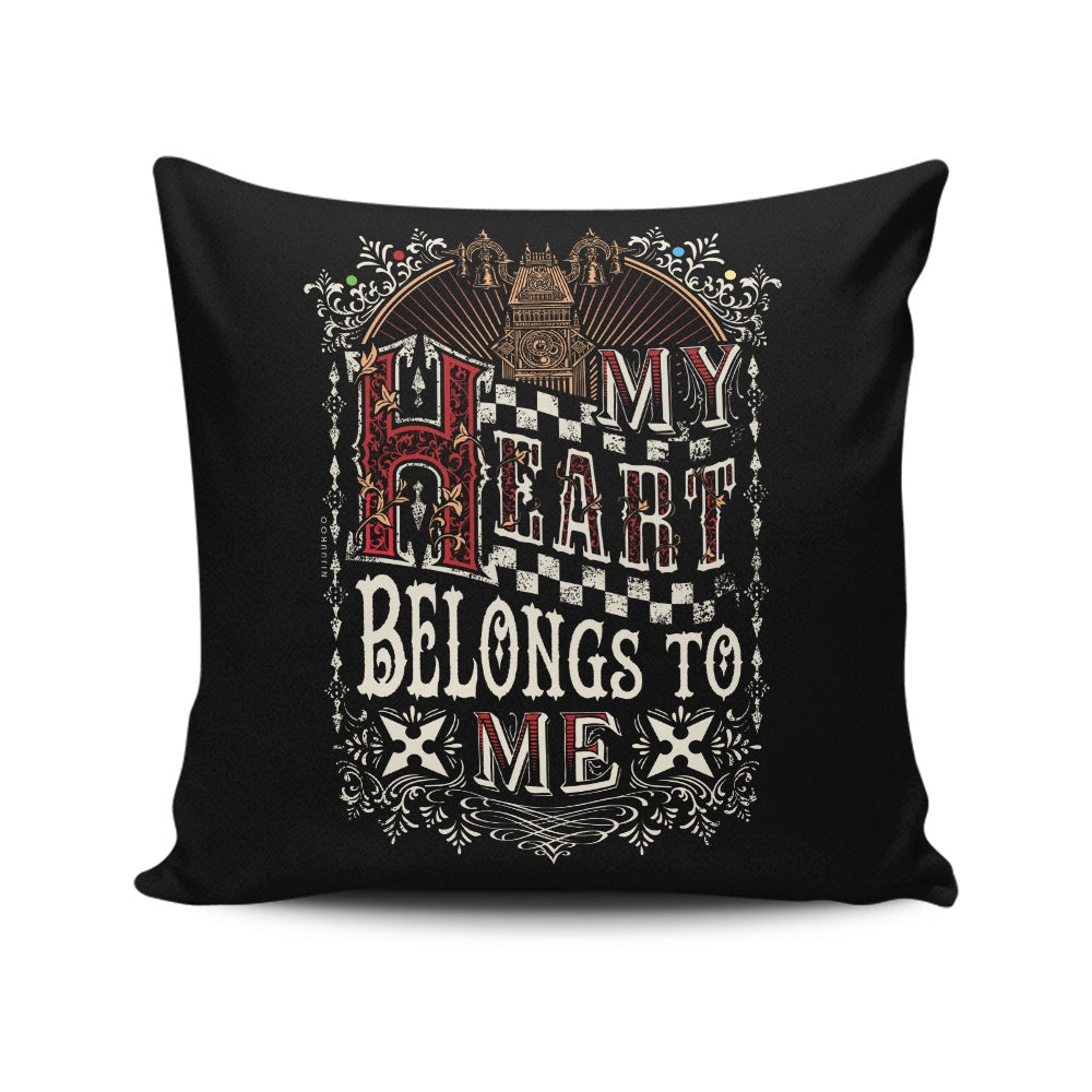 Roxa's Heart - Throw Pillow