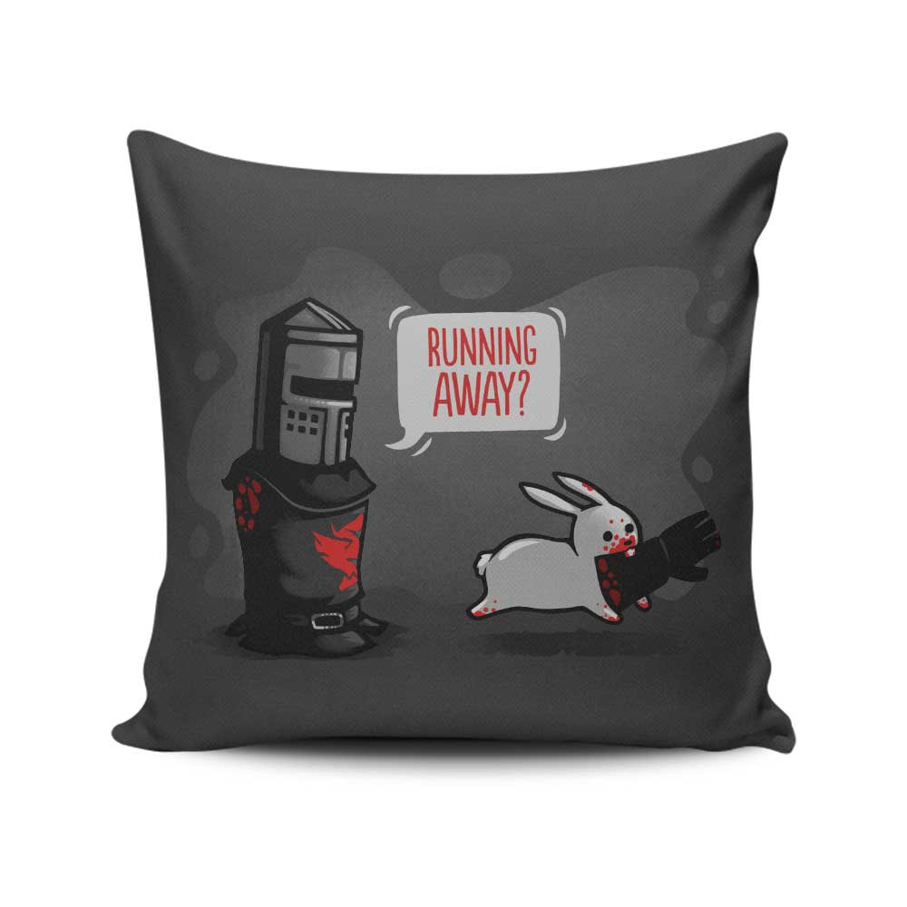 Running Away - Throw Pillow