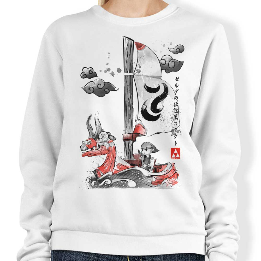 Sailing with the Wind - Sweatshirt