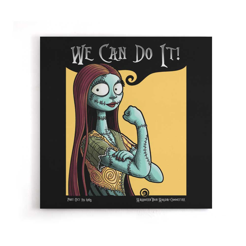 Sally Can Do It - Canvas Print
