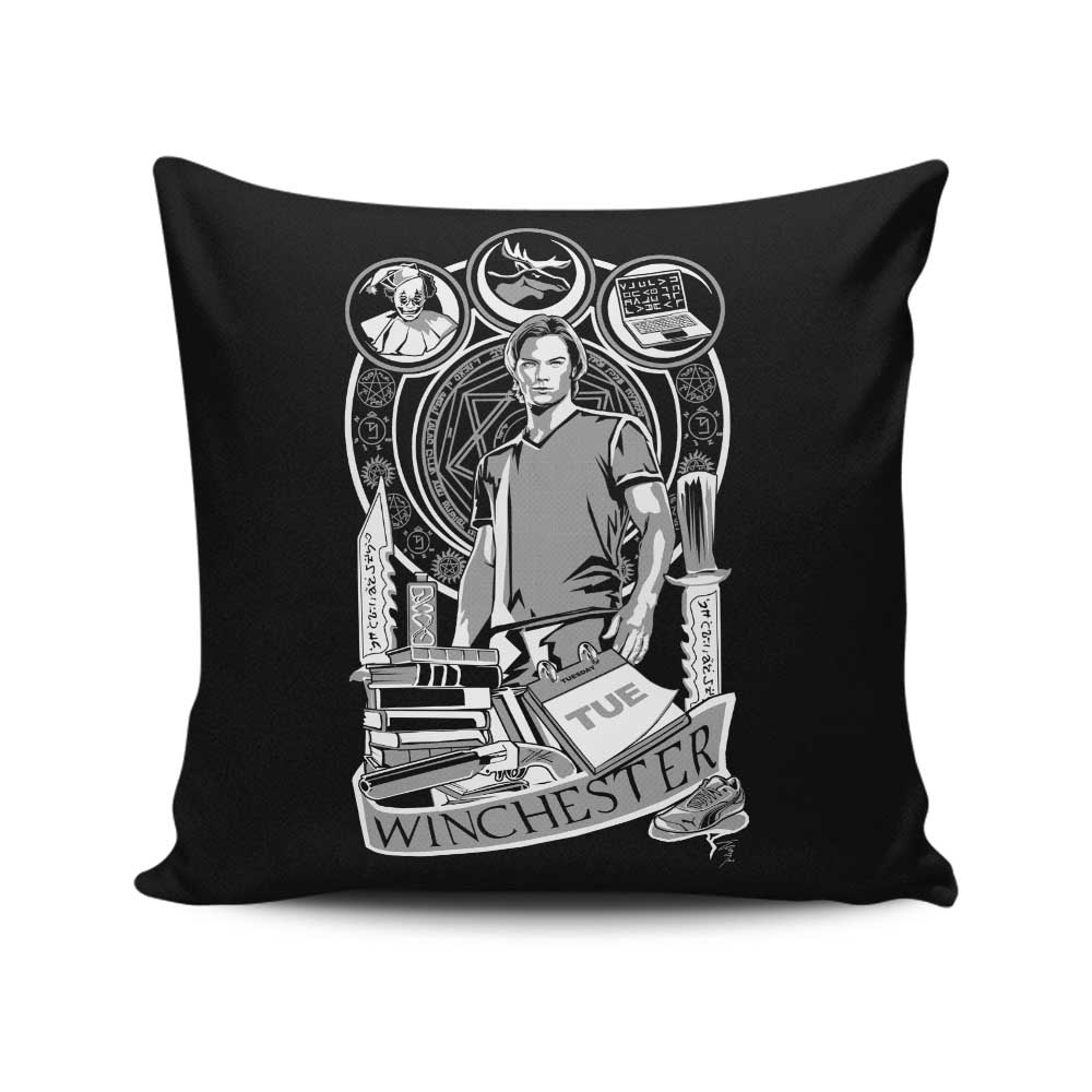 Sam Nouveau - Throw Pillow