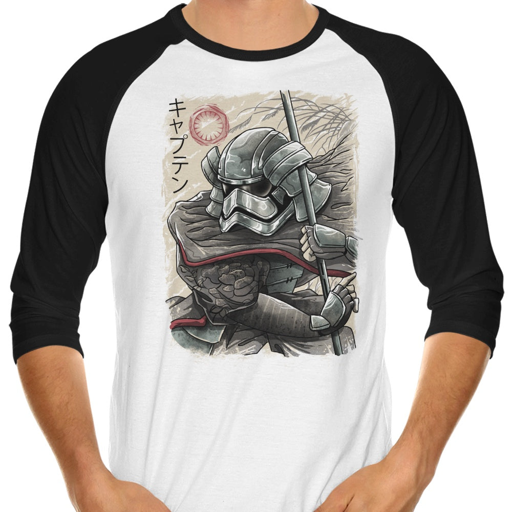 Samurai Captain - 3/4 Sleeve Raglan T-Shirt