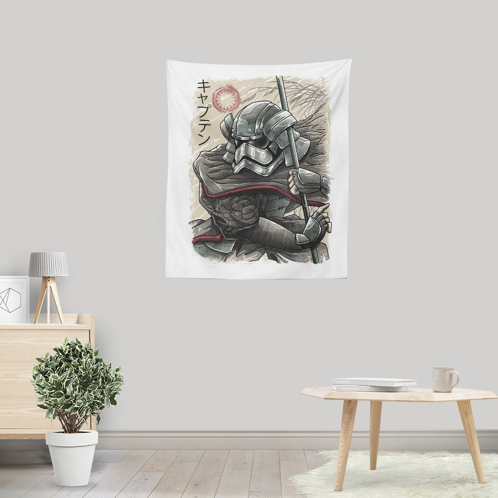 Samurai Captain - Wall Tapestry