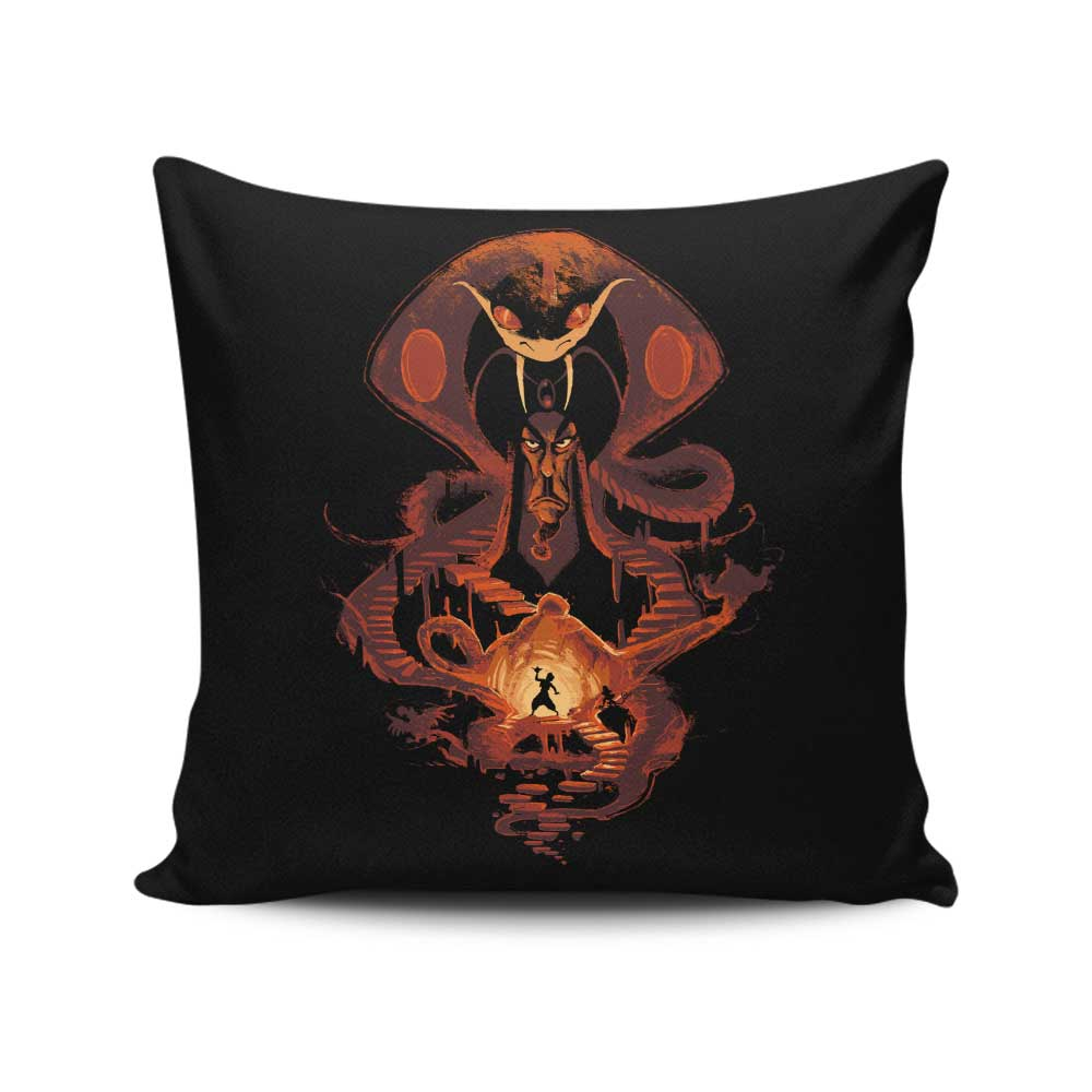 Sand Nightmare - Throw Pillow