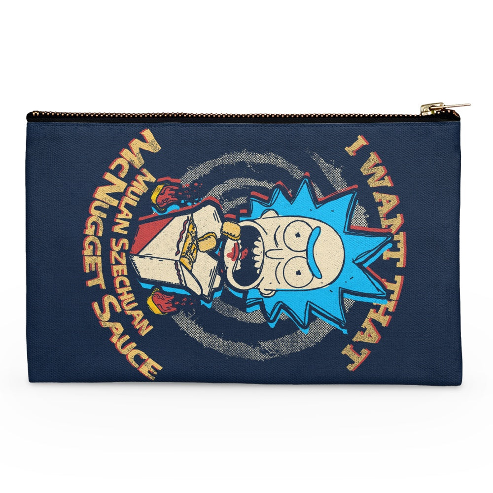 Schwifty Sauce - Accessory Pouch