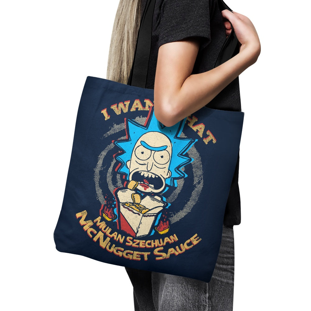 Schwifty Sauce - Tote Bag