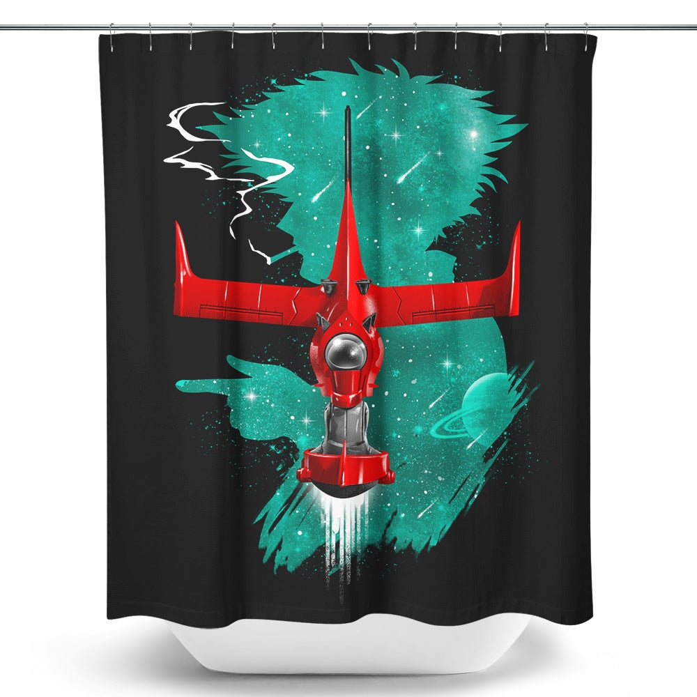 See You in Space - Shower Curtain