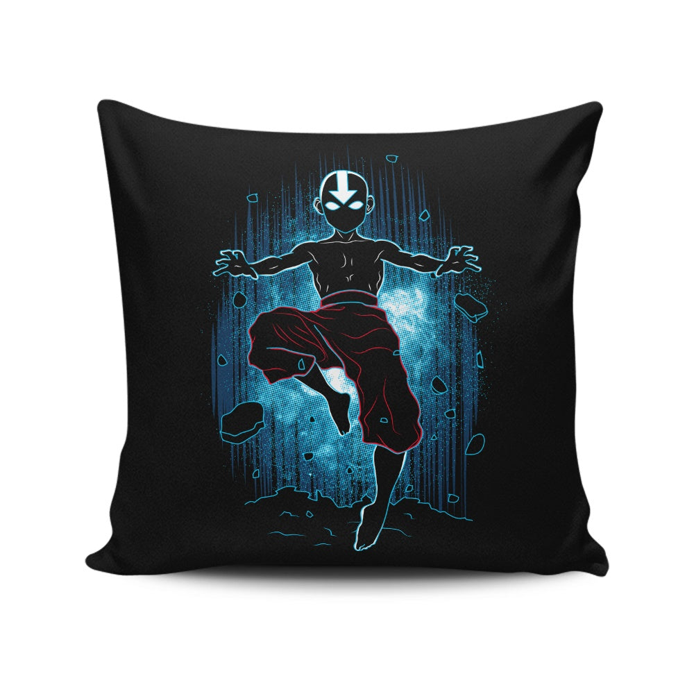 Shadow of Air - Throw Pillow