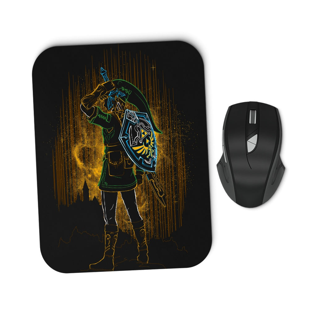 Shadow of the Courage - Mousepad