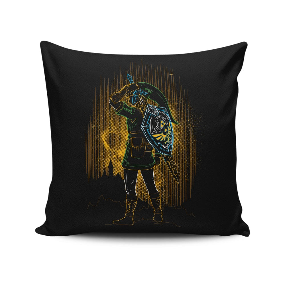 Shadow of the Courage - Throw Pillow