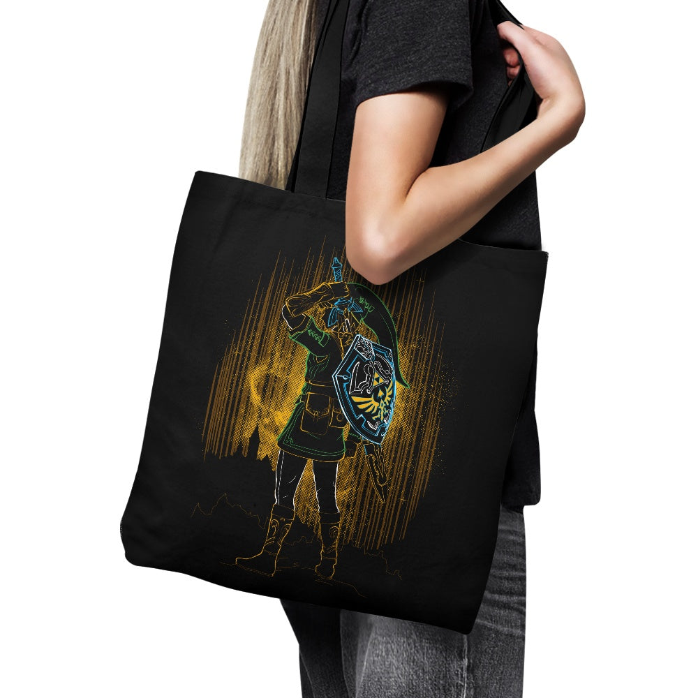 Shadow of the Courage - Tote Bag